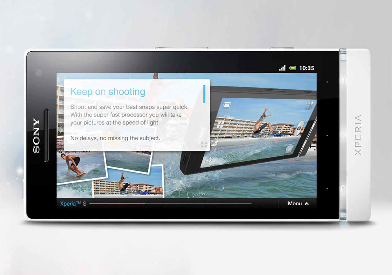Sony Mobile Xperia™ insider app