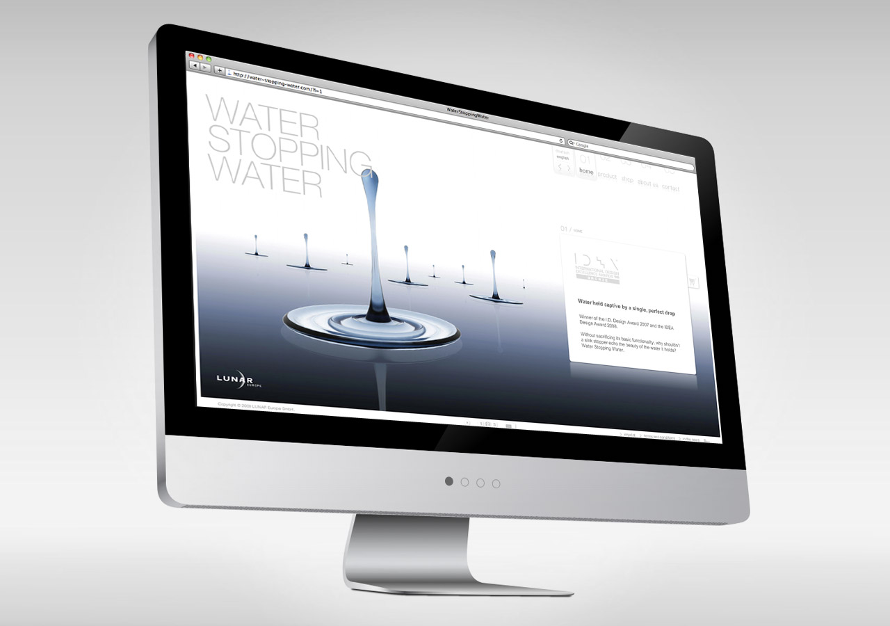 WaterStoppingWater Website